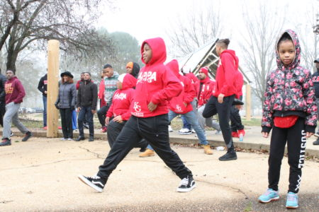 Inaugural J5 Fit for Founders Health Walk