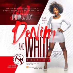 Annual Denim and White Party @ ISH Bar and Grill