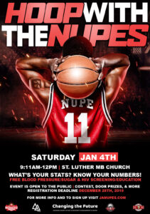 Hoop with the NUPES @ St. Luther M.B. Church